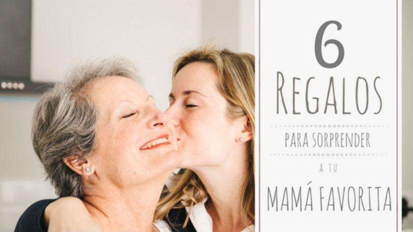 6 opciones de regalo para la suegra, la tía y la abuela en el día de las madres